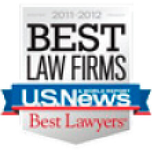 2011-2012 Best Law Firms Badge