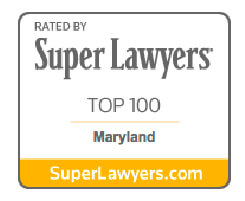 Super Lawyers Top 100 in Maryland Badge